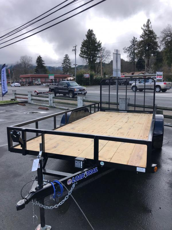 "2021 Load Trail UT162 Utility Trailer 83""x16' (2""x3"" Angle frame)"