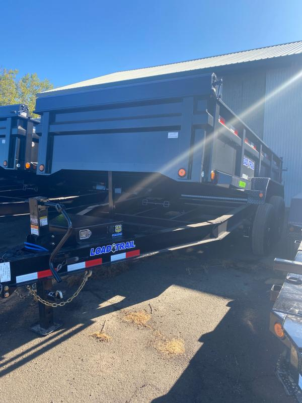 "2021 Load Trail 83"" X 14' 14K Dump Trailer"