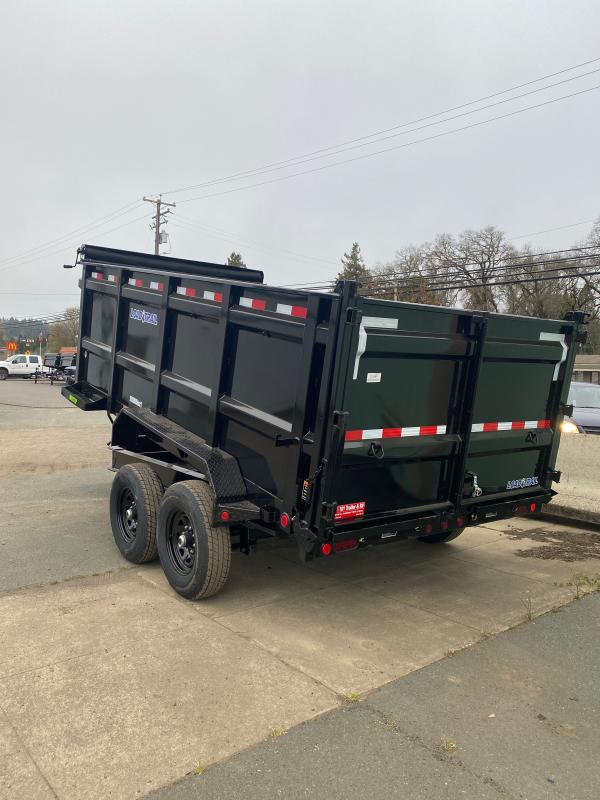 "2021 Load Trail  83"" X 14' W/ 48IN SIDES Dump Trailer"