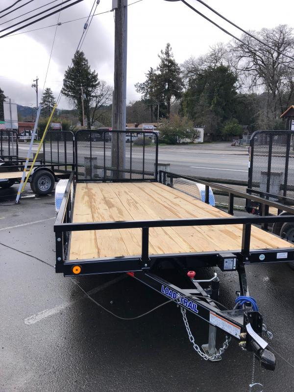 "2021 Load Trail UT182 Utility Trailer 83""x18' (4"" channel frame)"