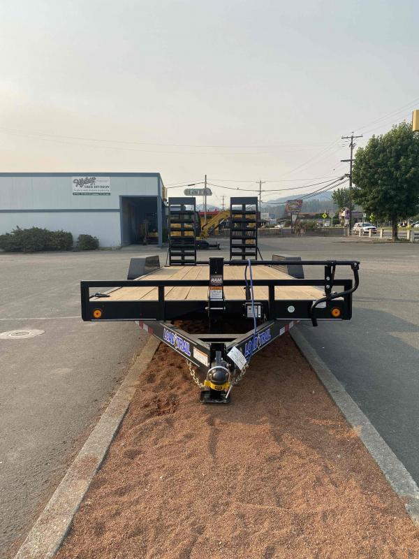"""2021 Load Trail 83"""" X 20' 14K Carhauler STAND UP RAMPS"""
