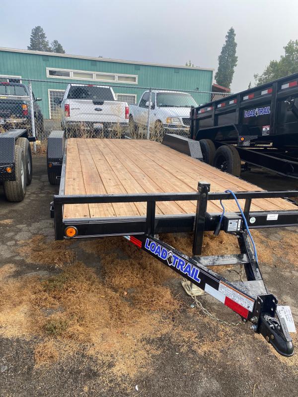 "2021 Load Trail 83"" x 20' 9990K 5"" Channel Car Trailer"