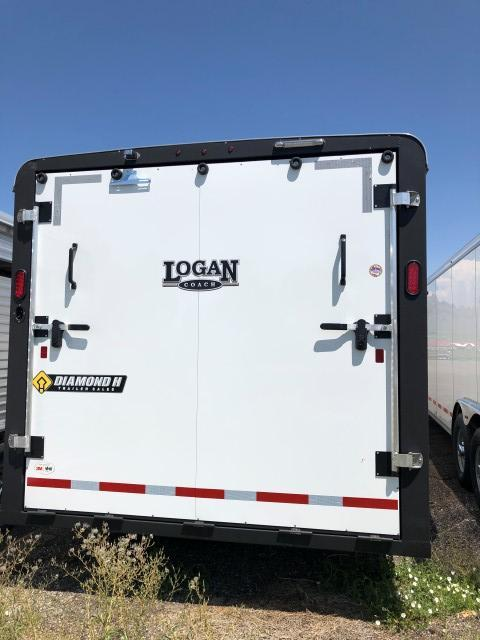 2020 Logan Coach 20' Enclosed Cargo Trailer