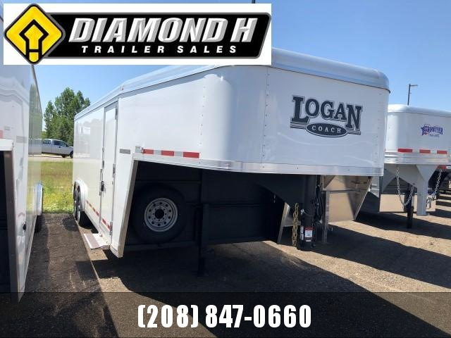 2020 Logan Coach 20' Enclosed Cargo Trailer