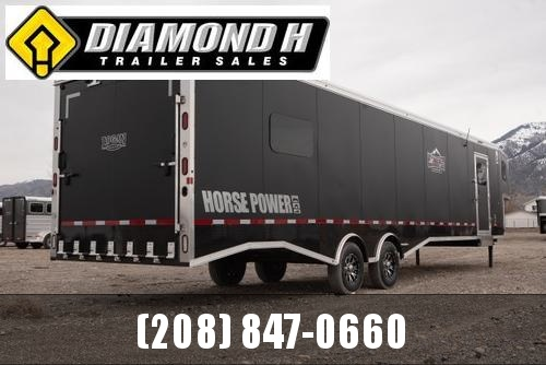 2021 Logan Coach Horse Power Snowmobile Trailer