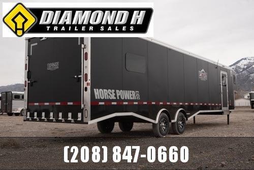 2021 Logan Coach Horse Power Snowmobile Trailer