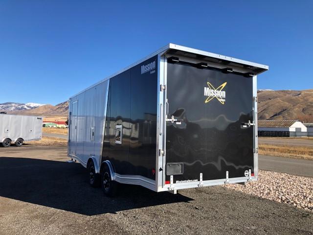 2021 Mission All Sport Snowmobile Trailer