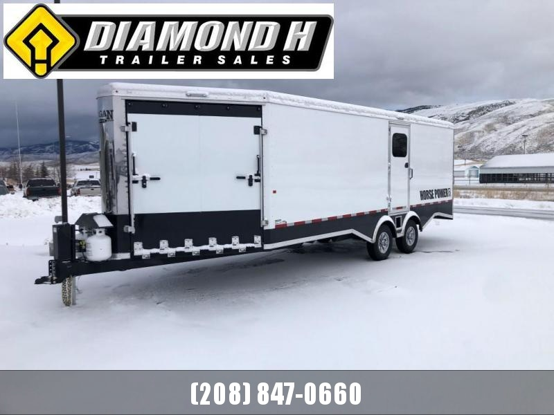 2020 Logan Coach Horse Power Snowmobile Trailer