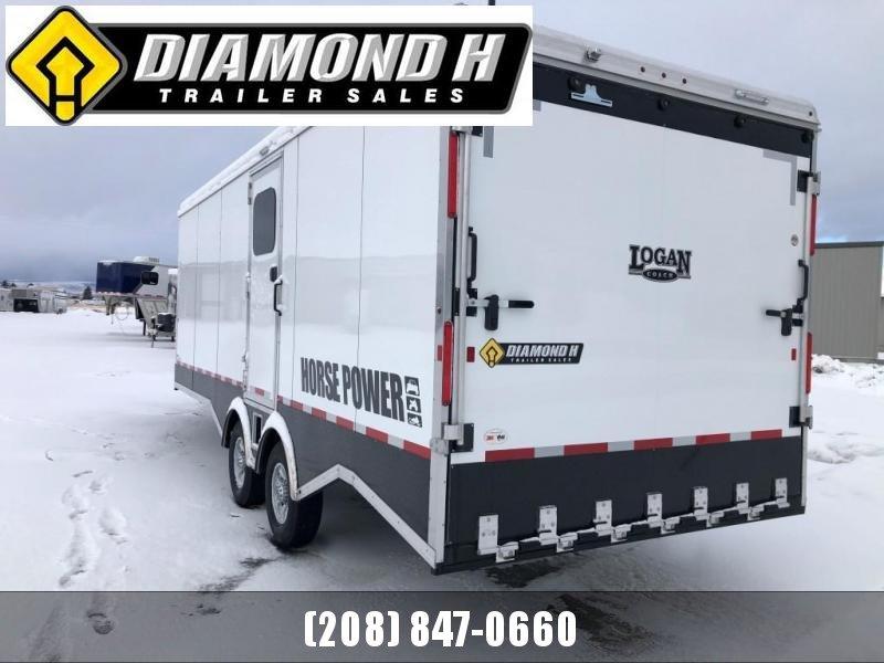 2020 Logan Coach Horse Power Snowmobile Trailer