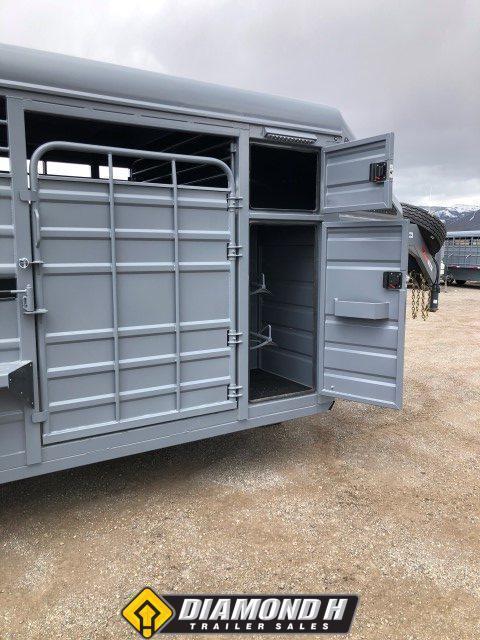 2021 Swift Built 24' Tack Box Trailer