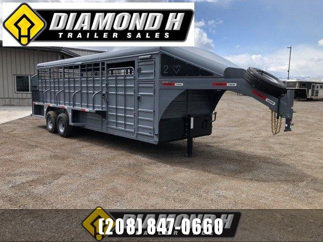 2021 Swift Built 24' Tack Box Trailer