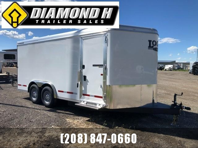 2020 Logan Coach 16' Enclosed Cargo Trailer