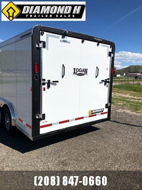 2020 Logan Coach 16' Enclosed Cargo Trailer