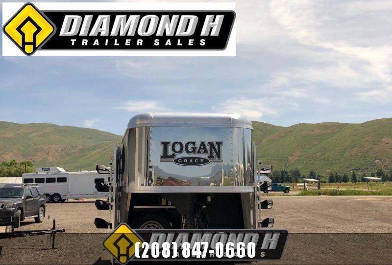 2019 Logan Coach Stockman 24' Combo Trailer
