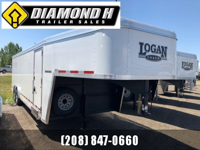 2020 Logan Coach 24' Enclosed Cargo Trailer