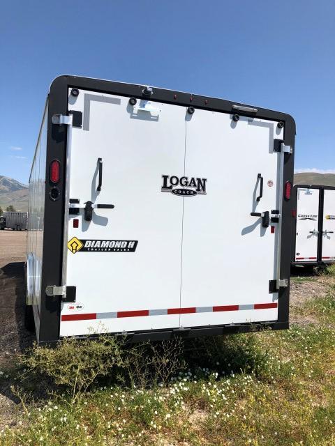 2020 Logan Coach 24' Enclosed Cargo Trailer