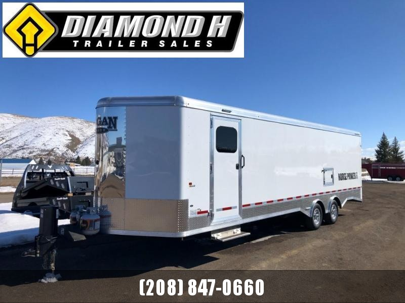 2021 Logan Coach Horse Power SxS Snowmobile Trailer