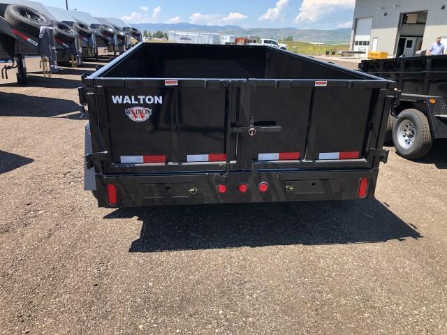 2020 Walton Trailers D1012 Dump Trailer