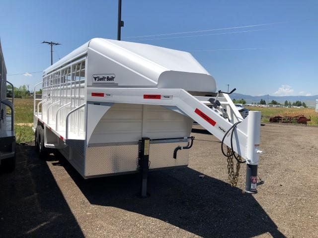 2019 Swift Built Trailers 20' Livestock Trailer