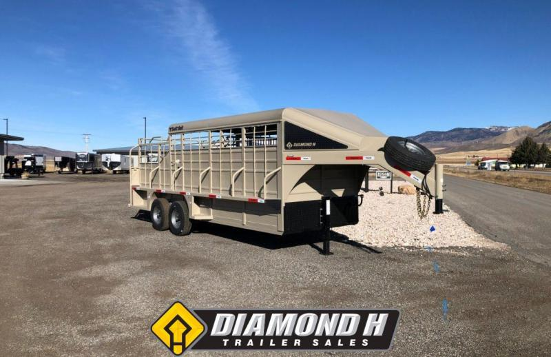 2020 Swift Built 20' 3/4 Top Stock Trailer
