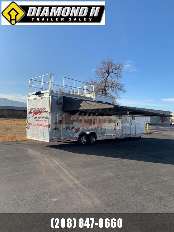 1999 Featherlite Race Trailer Toy Hauler