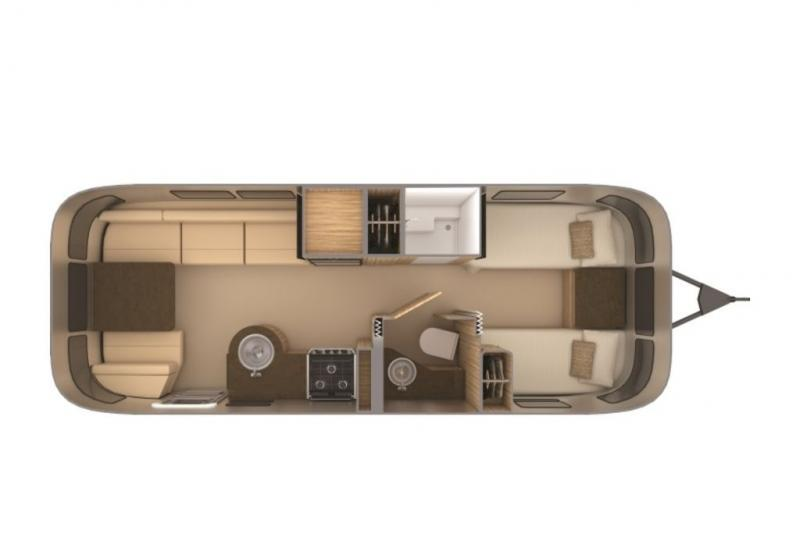 Airstream Flying Cloud 25FB Twin