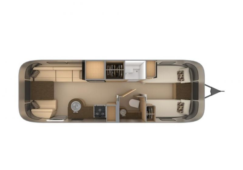 Airstream Flying Cloud 27FB Twin
