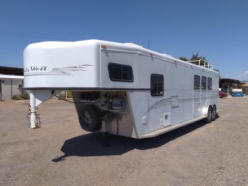2002 Trails West Manufacturing SIERRA Horse Trailer