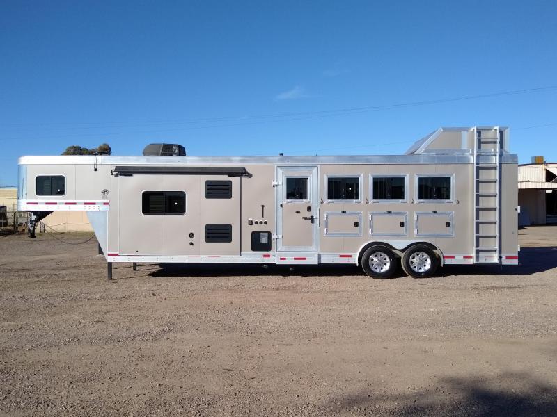 2017 Sierra 2017 SIERRA 4H 8412 LQ W/ SLIDE Horse Trailer