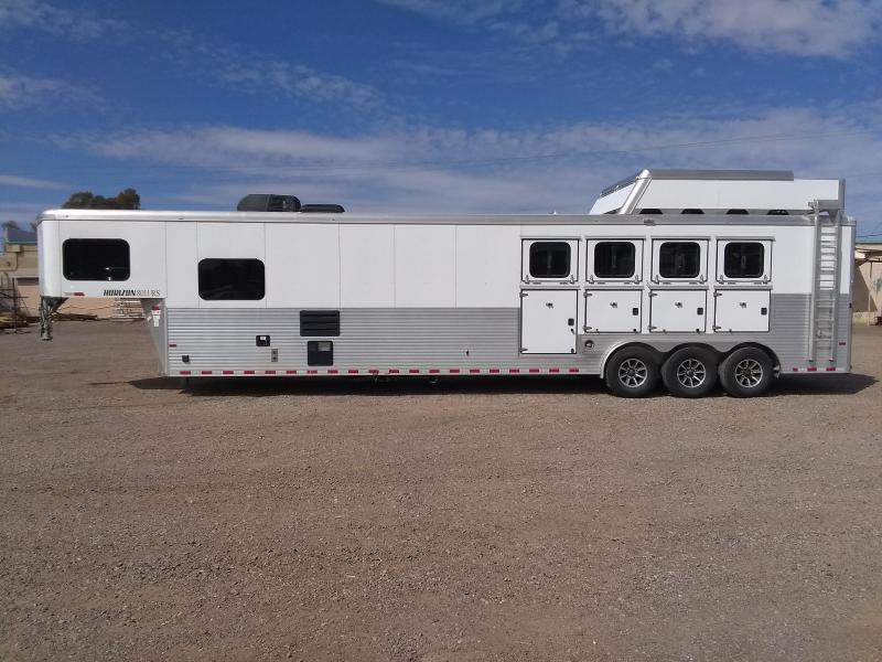2017 SUNDOWNER HORIZON 811 RS LQ 4H Horse Trailer