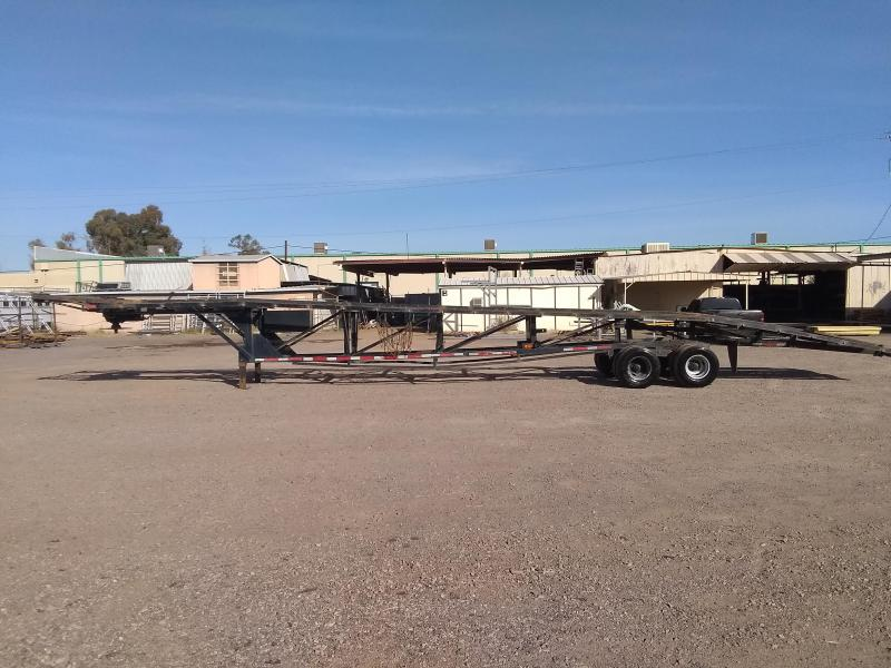 2008 Kaufman Trailers 50' WEDGE CAR HAULER Car / Racing Trailer