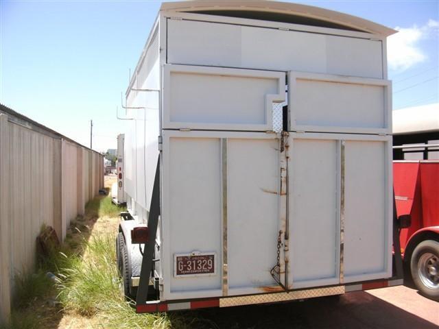 1995 Big Tex Trailers Cargo Horse Trailer