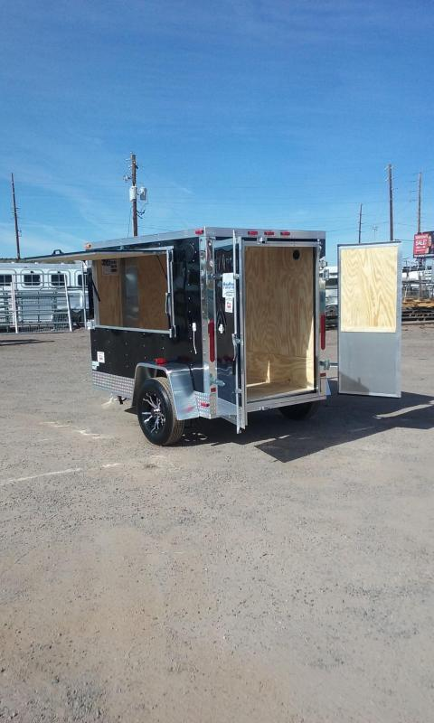 2017 Maxwell FARRIER TRAILER Enclosed Cargo Trailer