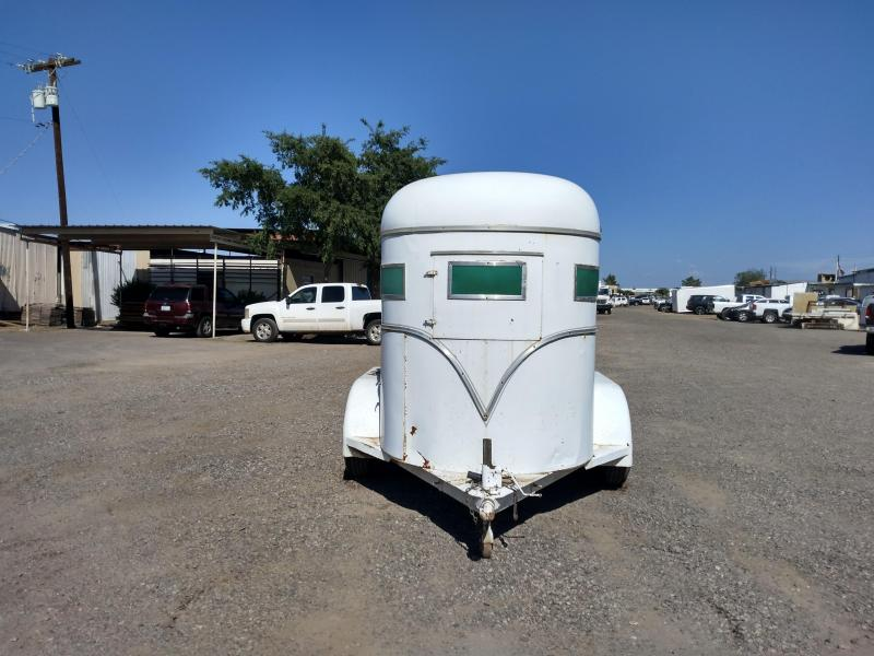 1975 Imperial 2H BP STRAIGHT LOAD Horse Trailer