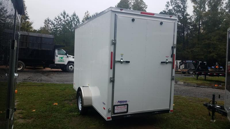 2021 Freedom Trailers 6x12 Cargo / Enclosed Trailer