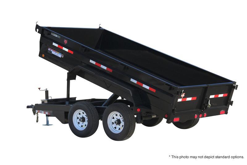 "2021 PJ Trailers 12' x 72"" Tandem Axle Dump Trailer"