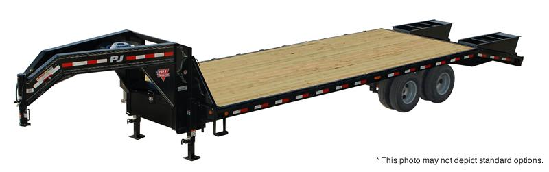 2021 PJ Trailers 40' Classic Flatdeck with Duals Trailer