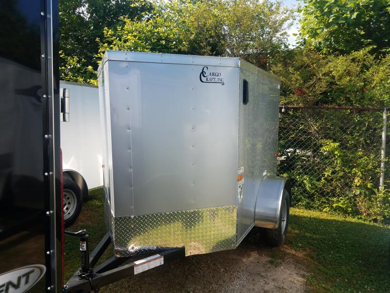 2021 Cargo Craft 5x6 v-nose Cargo / Enclosed Trailer