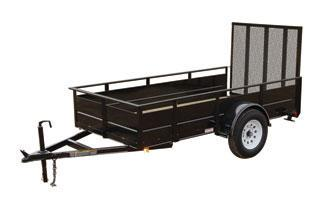 CARRY-ON 5X10 SSG2K utility trailer with solid sides