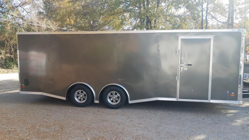 2019 Covered Wagon Trailers 8.5x24 Gold Mine Series Car / Racing Trailer