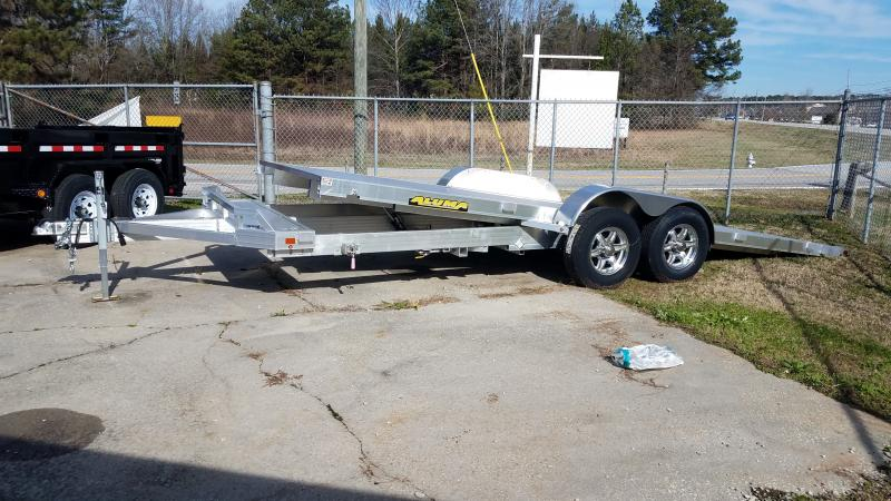 2021 Aluma 8220 tilt Car / Racing Trailer