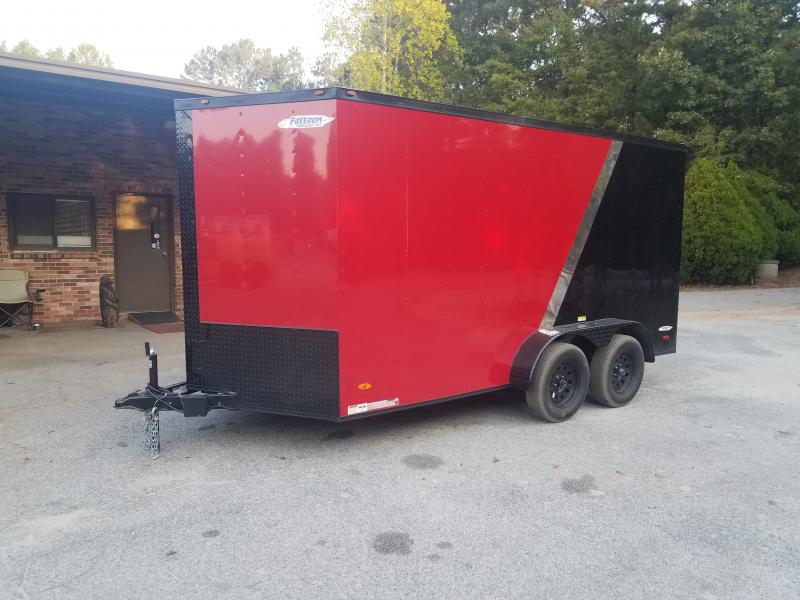 2021 Freedom Trailers 7x14 Cargo / Enclosed Trailer