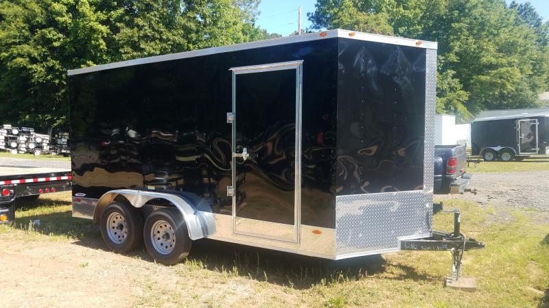 2019 Freedom Trailers 7x14 Cargo / Enclosed Trailer