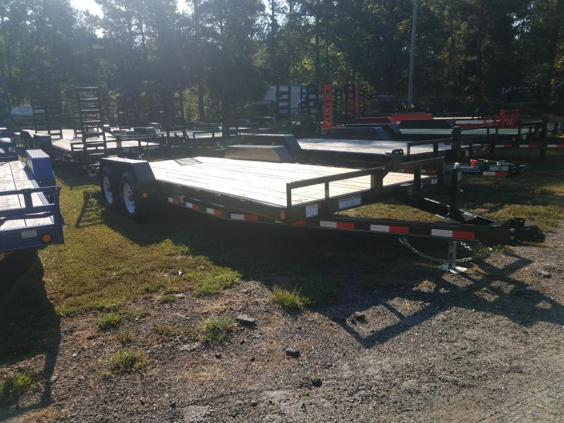 2021 PJ Trailers CE20 Equipment Trailer