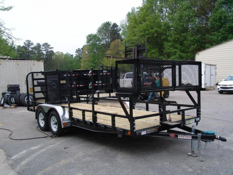 2021 PJ Trailers 83 in. Channel Utility (U8) Utility Trailer