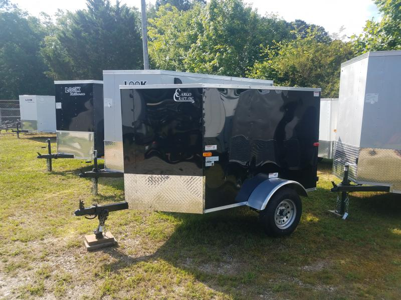 2021 Cargo Craft 4x6 ranger Cargo / Enclosed Trailer