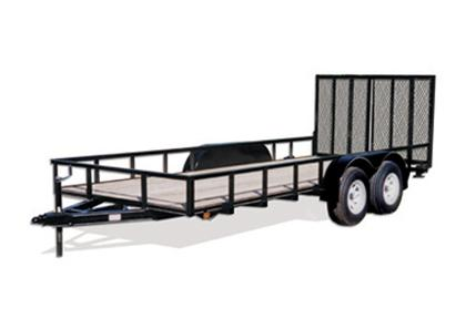 CARRY-ON 6X14 GW2BRK  flatbed utility trailer