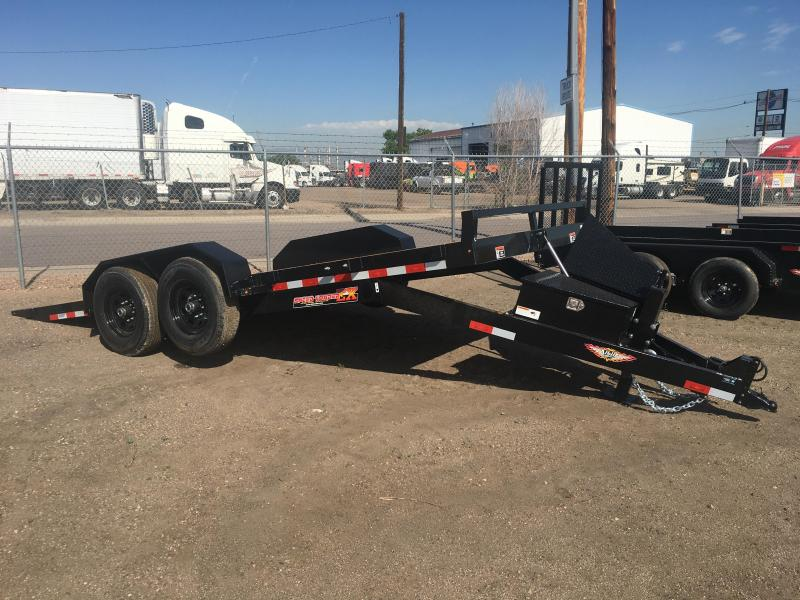 2021 H and H Trailer H8218EXL-140 Flatbed Trailer