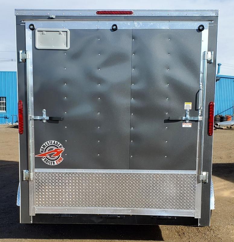 "2021 Homesteader 7x12 ""Intrepid OHV""Enclosed Cargo Trailer"
