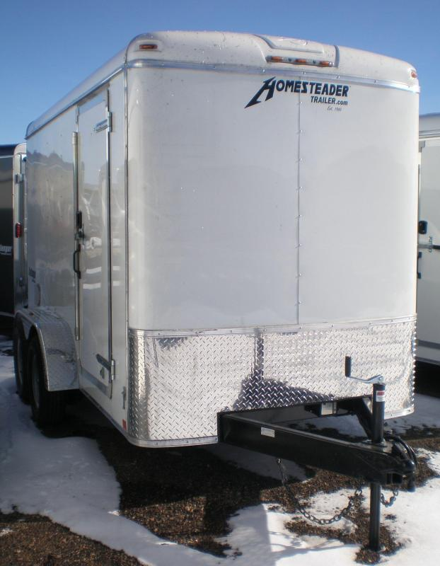 2021 Homesteader 6x12 Tandem Enclosed Cargo Trailer w/Ramp